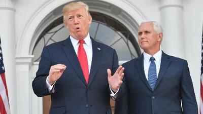 """Trump asegura que su amenaza """"fuego y furia"""" contra Corea del Norte """"quizás no fue lo suficientemente fuerte"""""""