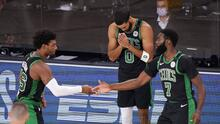 Los Celtics vinieron de atrás y vencieron a Miami