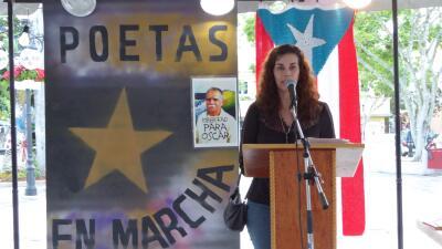 """Reclaman """"verso a verso"""" la libertad de Oscar López Rivera decenas de poetas"""