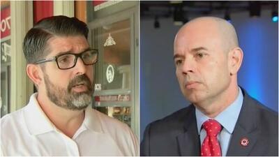 Seguridad en las escuelas y educación, los temas más álgidos en las campañas de Manny Díaz Jr. y David Pérez