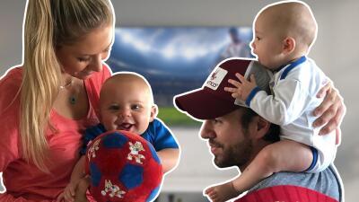 ¿Rusia o España?, los mellizos de Enrique Iglesias y Anna Kournikova hacen la paz futbolera entre sus padres