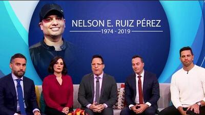 """""""Amigo, te recordamos"""": el equipo de Despierta América despide con tristeza al productor Nelson Ruiz"""