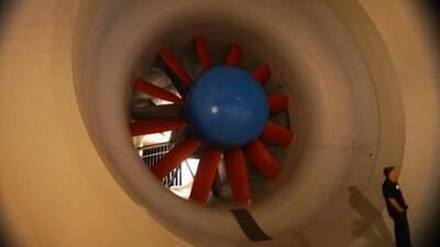 Visita a un túnel de viento