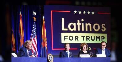 Pareja de hispanos que apoya reelección de Trump afirma que la 'mayoría silenciosa' dará el triunfo a republicanos