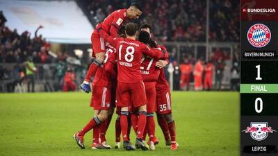 Bayern Munich ganó al Leipzig y recuperó terreno en Bundesliga