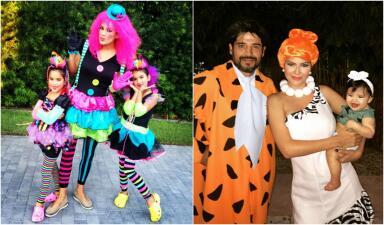 Las sorprendentes transformaciones de Karla Martínez y Ana Patricia para Halloween (fotos)