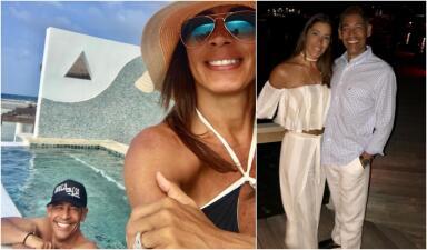En fotos: Celebramos con Johnny Lozada el cumpleaños de su esposa Sandra Meléndez