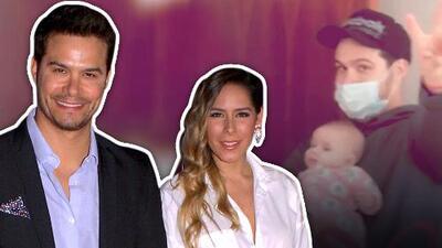De papá luchón, a Brandon Peniche le tocó hacerse cargo de la hija que tiene con Kristal Cid