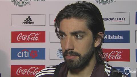 Rodolfo Pizarro piensa que México se tiene que acostumbrar a ganar