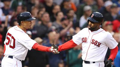 Bradley sigue imparable y guía triunfo de Red Sox sobre Rockies