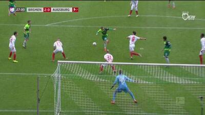 Con poco fútbol, Bremen ya va arriba 2-0