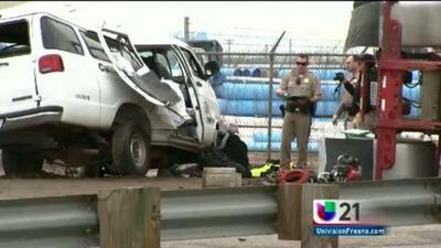 Tres muertos en accidente fatal