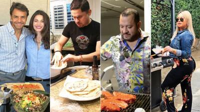 Famosos que se creen chefs y hasta tienen las habilidades para cambiar de profesión