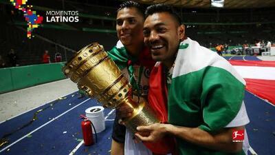 Eintracht Frankfurt apoya a México por iniciativa de Marco Fabián y Carlos Salcedo