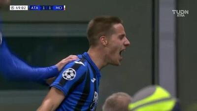 Pasalic puso el empate para el Atalanta ante el City