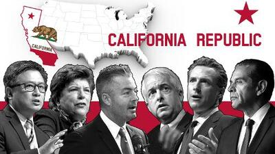Estos son los candidatos a la gobernación de California 2018 y sus puntos de vista