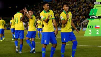 El anfitrión Brasil avanzó en el Mundial Sub-17