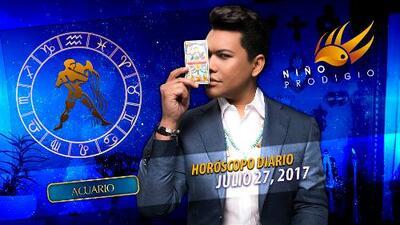 Niño Prodigio - Acuario 27 de julio 2017