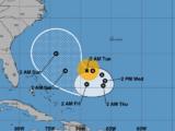 El huracán José se degrada a categoría 1 y puede convertirse la tarde del martes en tormenta tropical