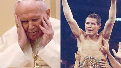 Revelan que Julio César Chávez consumió cocaína en el baño que usaba el Papa Juan Pablo II