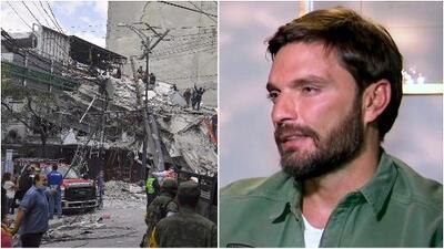 Julián Gil en shock nos contó cómo vivió el terremoto de 7.1 en México