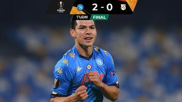 ¡Va por ti, Diego! Napoli gana y Chucky anota su gol 50 en Europa