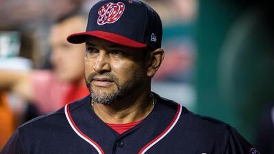 Dave Martínez, manager de los Nationals, es operado del corazón