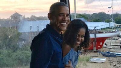 Michelle y Barack Obama cumplen 27 años casados y celebran con románticos mensajes de amor