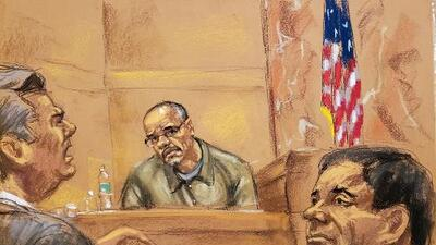 Narco colombiano dice en juicio de 'El Chapo' que sobornó a exfiscal general de México