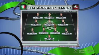 Posible alineación de México ante Canadá
