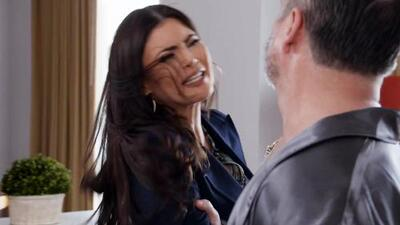 Cristina fue víctima de acoso laboral (así fue el debut de Chiquinquirá Delgado en 'Por amar sin ley')