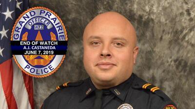 Fallece en accidente de tránsito oficial de policía de Grand Prairie