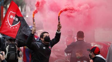 Aficionados de Newell's piden regreso de Messi... ¡en caravana!
