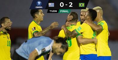 Con paso firme: Brasil vence a Uruguay y sigue invicto