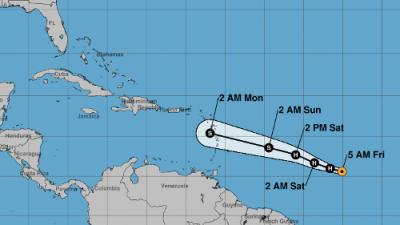 Beryl se convierte en el primer huracán de la temporada en el Atlántico