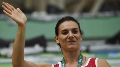 La rusa Yelena Isinbáyeva anunciará mañana en Río su retiro definitivo del atletismo