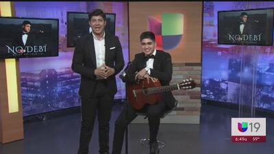 """Ricky Valenzuela presenta su nuevo material """"No Debí"""""""
