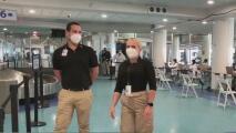 Refuerzan medidas de seguridad en el Aeropuerto Internacional Luis Muñoz Marín para evitar contagios de coronavirus