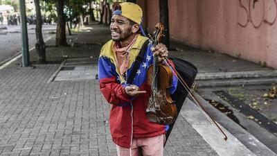 """""""Fui torturado por funcionarios de la GNB"""": Wuilly Arteaga, el violinista que denuncia la represión en Venezuela"""