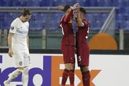 AS Roma 3-0 Cluj | Mjitaryán (1') adelantó muy pronto a los locales. Ibáñez da Silva (24') y Broja Mayoral (34') completaron la goleada. El cuadro italiano lidera el Grupo A con siete puntos, mientras que los rumanos se quedan con cuatro.