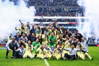 Así se vivió la celebración del América en el Estadio Azteca tras ganar el título de Liga