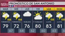 Activan vigilancia por tormentas severas en San Antonio: granizo, fuertes vientos y lluvias son posibles
