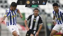 Tecatito pone 'medio gol' en victoria del Porto sobre el Nacional