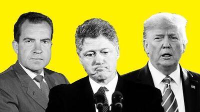 Solo 3 presidentes en la historia de EEUU fueron a un proceso de 'impeachment': ¿en qué se parecen al caso de Trump?