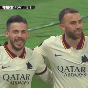 ¡Siguen aullando! Borja Mayoral ya hizo doblete y el 1-2 de Roma