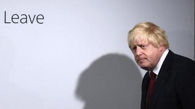 Boris Johnson, exalcalde de Londres, no se presentará para sustituir a David Cameron al frente del Partido Conservador