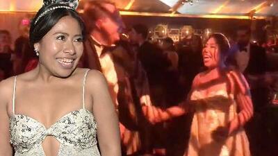 Esta fue la manera en que Yalitza Aparicio festejó el triunfo de 'Roma' en los Globos de Oro