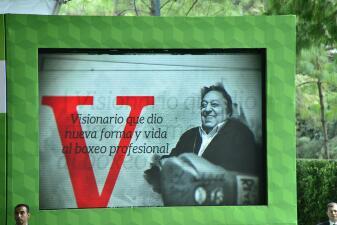 "Otorgan premio ""postmortem"" a José Sulaimán"