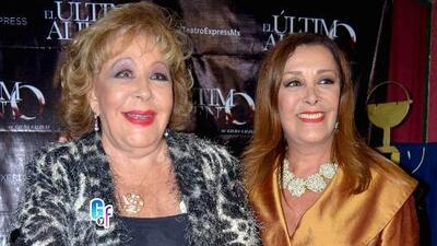 Silvia Pinal y Sylvia Pasquel estuvieron distanciadas por culpa de un hombre