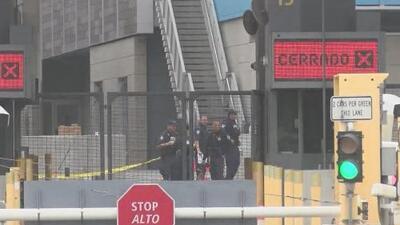 Joven muere en un intercambio de disparos, tras negarse a una inspección en el paso fronterizo entre San Diego y Tijuana